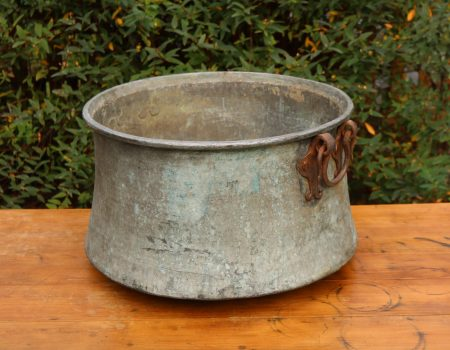 Large Copper Cauldron #25