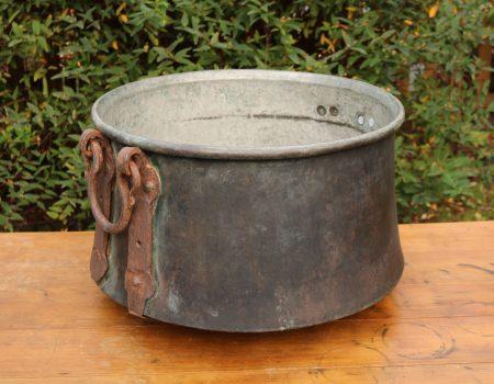 Large Copper Cauldron #26