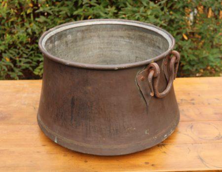 Large Copper Cauldron #27