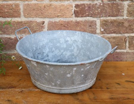 Galvanised Bowl #61