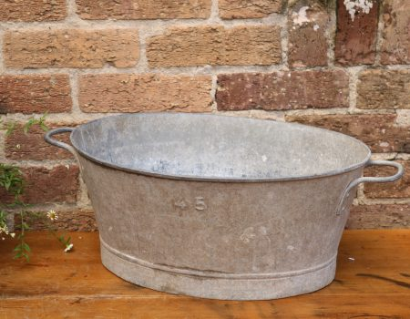Galvanised Small Tub #62