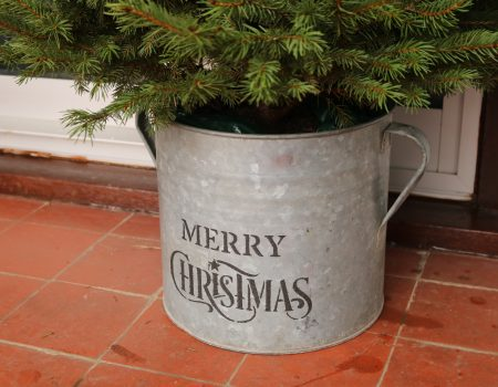 Christmas Galvanised Tub #3