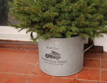 Christmas Galvanised Tub #4