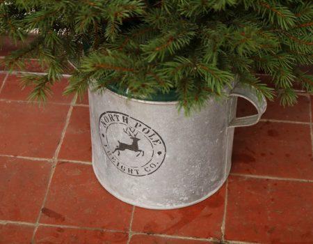 Christmas Galvanised Tub #5