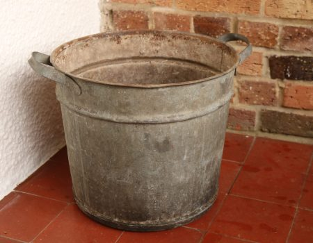 Galvanised Round Tub #60