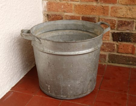 Galvanised Round Tub #61