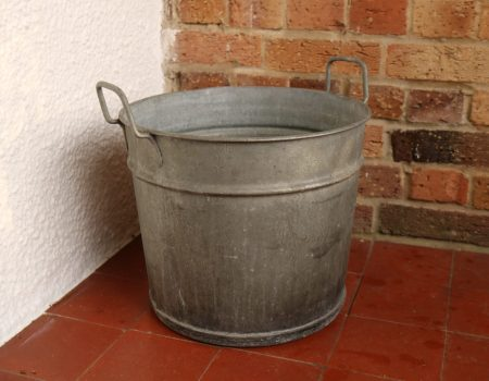 Galvanised Round Tub #62