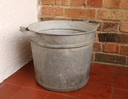 Galvanised Round Tub #63