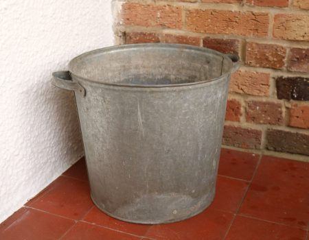 Galvanised Round Tub #65