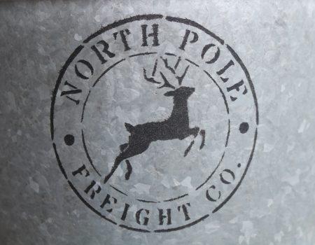 Stencil Artwork – North Pole