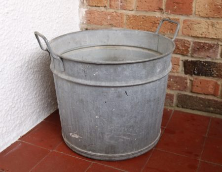 Galvanised Round Tub #66