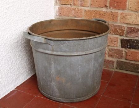 Galvanised Round Tub #67