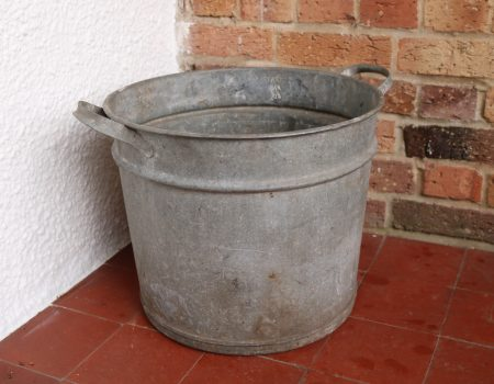 Galvanised Round Tub #70