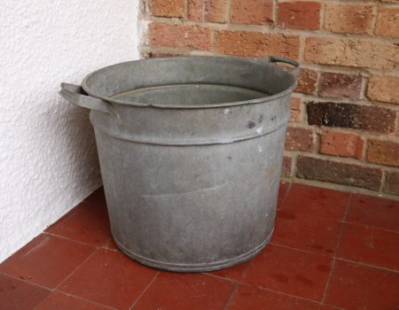Galvanised Round Tub #71