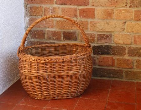 Wicker Basket #1