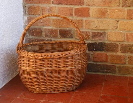 Wicker Basket #1