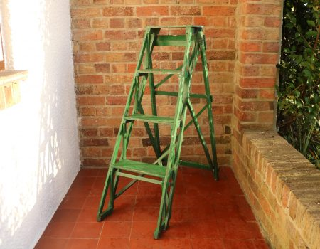 Green Step Ladder