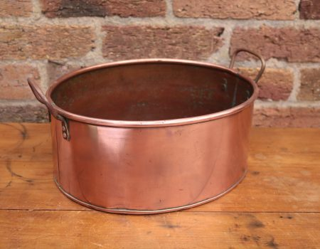 Copper Oval Pot #52