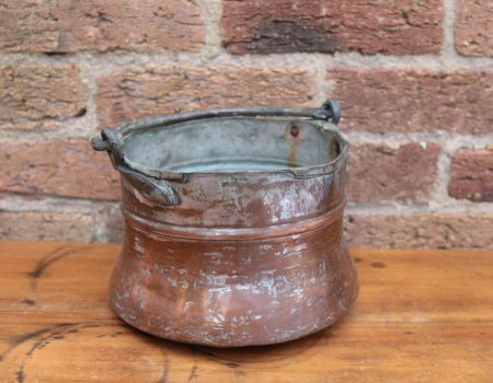 Small Copper Cauldron #54