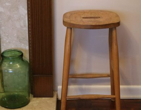 Wooden Art Stool #1