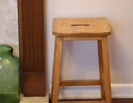 Wooden Art Stool #3
