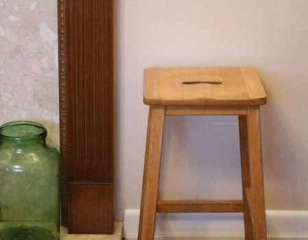 Wooden Art Stool #4