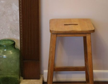 Wooden Art Stool #5
