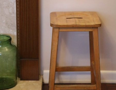 Wooden Art Stool #6