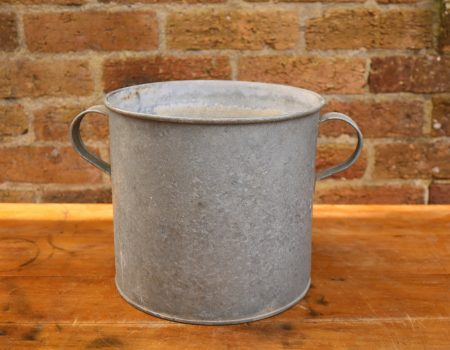 Galvanised Round Tub #81
