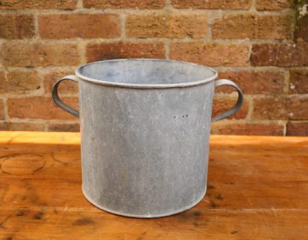 Galvanised Round Tub #82