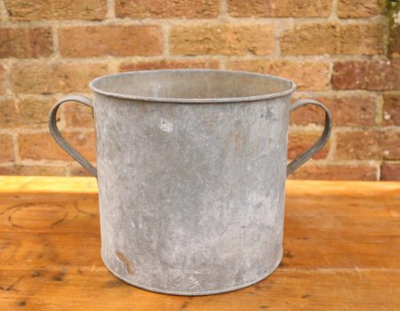 Galvanised Round Tub #83