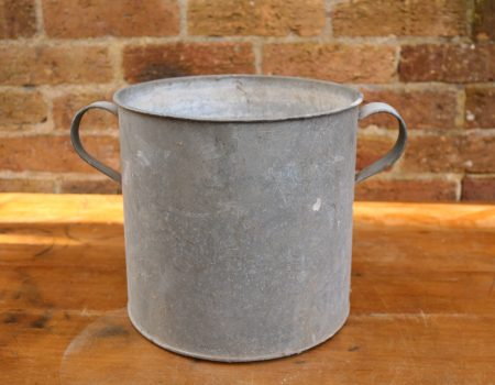 Galvanised Round Tub #85