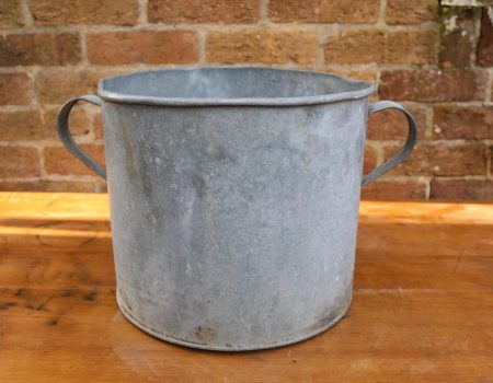 Galvanised Round Tub #86