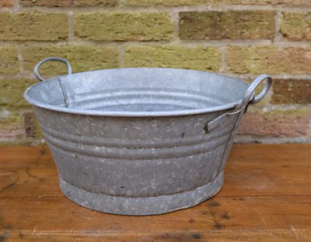 Galvanised Bowl #33