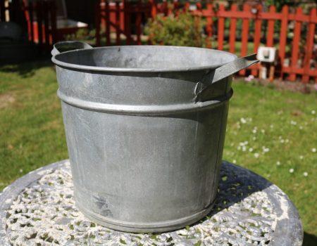 Galvanised Round Tub #116