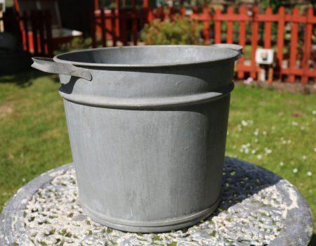 Galvanised Round Tub #117
