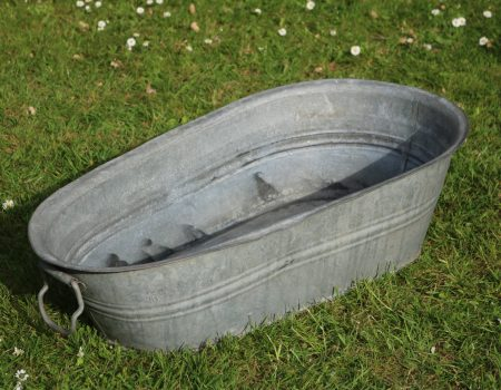 Baby Galvanised Bath Tub #1