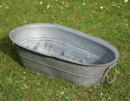 Baby Galvanised Bath Tub #2