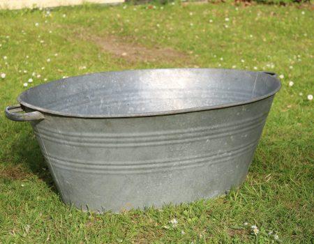 Galvanised Oval Bath Tub #145