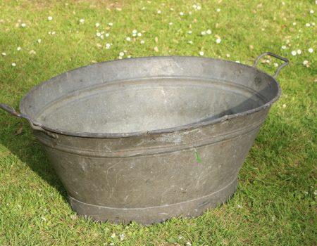 Galvanised Oval Bath Tub #146
