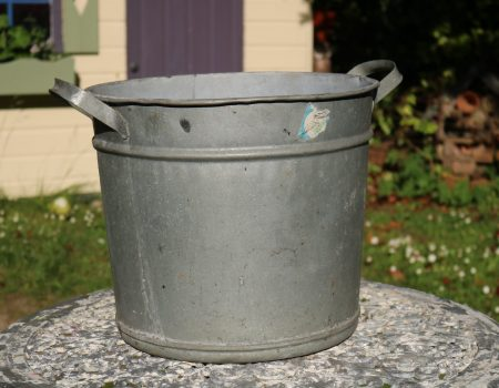 Galvanised Round Tub #137