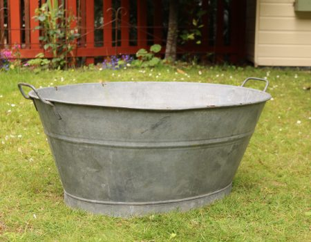 Galvanised Oval Bath Tub #162