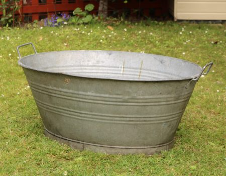 Galvanised Oval Bath Tub #163