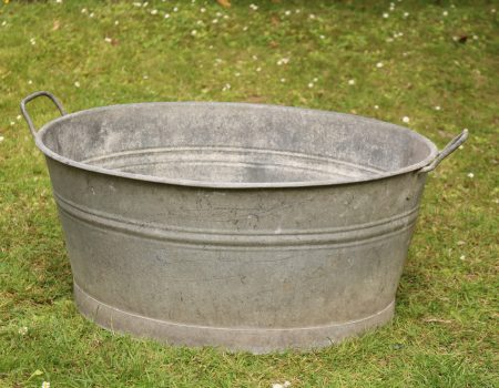 Galvanised Oval Bath Tub #165