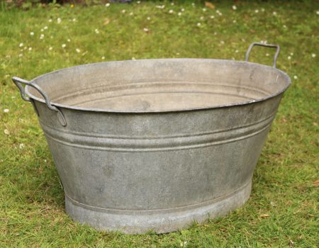 Galvanised Oval Bath Tub #166