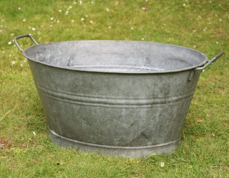 Galvanised Oval Bath Tub #167