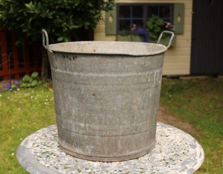 Galvanised Round Tub #144