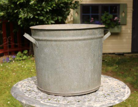Galvanised Round Tub #147