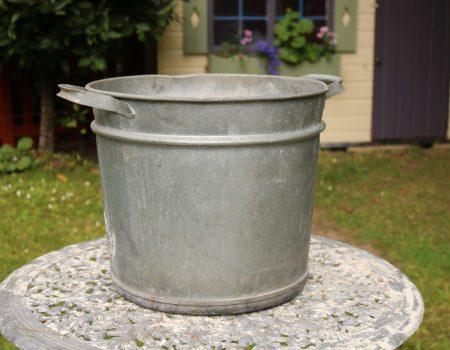 Galvanised Round Tub #154