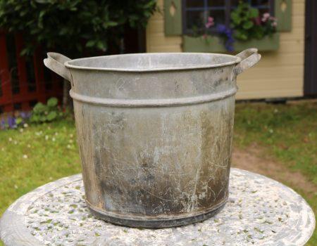 Galvanised Round Tub #156